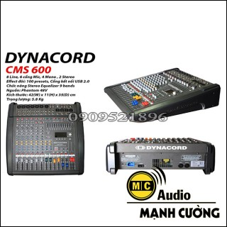 MIXER DYNACORD CMS 600 LOẠI 1 CHINA