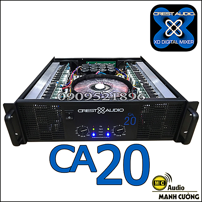 Main công xuất crest audio CA 20 loại 1