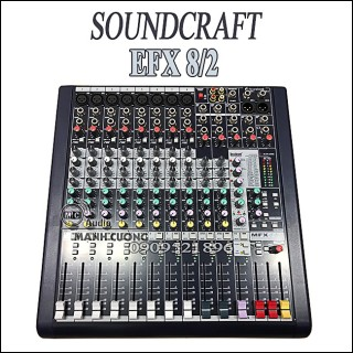 Bàn Mixer Soundcraft MFX 8/2